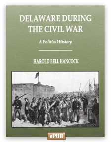 Electronic Book (ePub) - Delaware During the Civil War