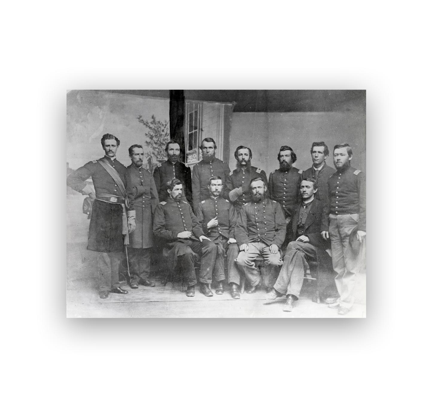 Officers of the 3rd Delaware Regiment, May 1862
